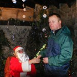 Jason with Father Christmas