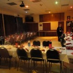 Tables all set out